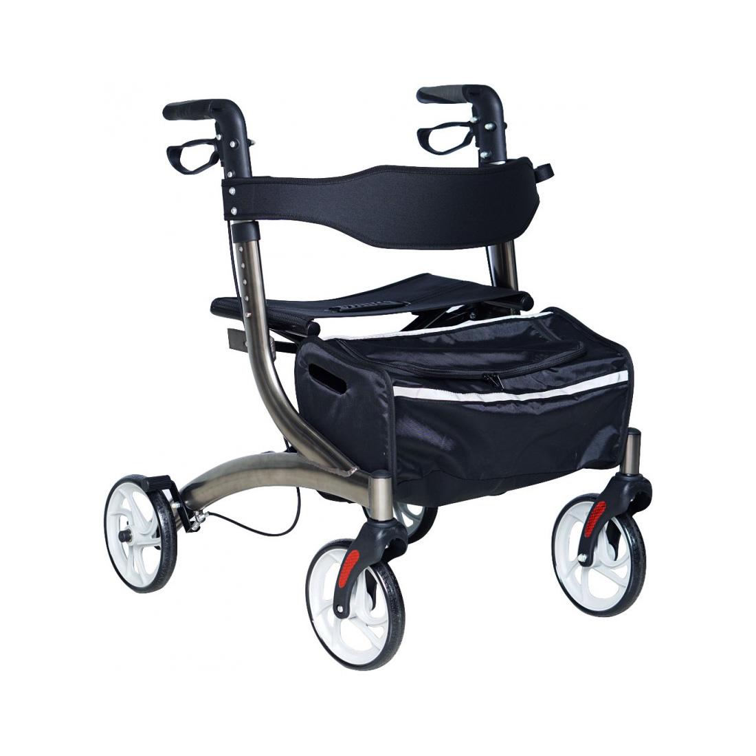 Andador 4 ruedas con asiento Premium